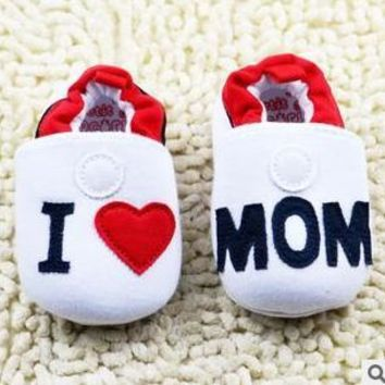 14 Styles Cute Boys & Girls Home Slippers Crib Shoes