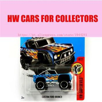2016 Toy cars Hot New Custom Ford Bronco Car Models Metal Diecast Cars Collection Kids Toys Vehicle For Children Juguetes