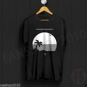 THE NEIGHBOURHOOD Wiped Out House Album Beach Black T-Shirt Unisex Size S to XL