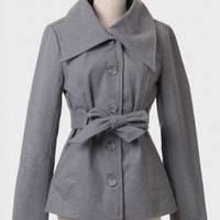 Bennies Tie-waist Jacket By BB Dakota