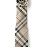 Burberry London patterned tie