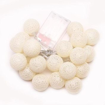 Newest Outdoor Courtyard Holiday Gifts Ball String Lights