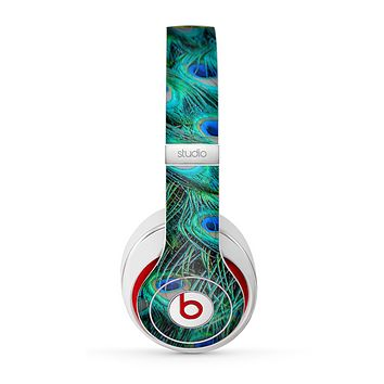 The Neon Multiple Peacock Skin for the Beats by Dre Studio (2013+ Version) Headphones