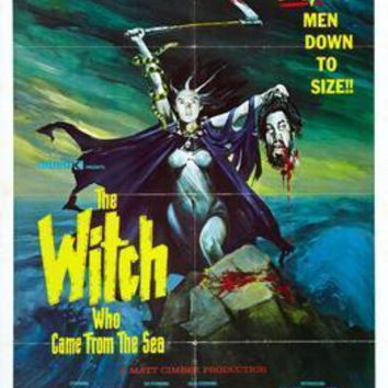 Witch Who Came From The Sea The movie poster Sign 8in x 12in