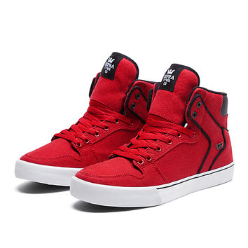 VAIDER ATHLETIC RED / BLACK - WHITE   Official SUPRA Footwear Site