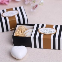Wedding Souvenirs White Love Heart Soap Wedding Favors And Gifts  Wedding Gift  For Guests Event & Party Supplies