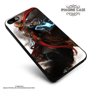 iron man thor nick furry black widow hawk case cover for iphone, ipod, ipad and galaxy series