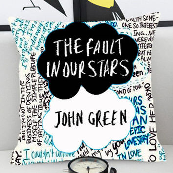 The Fault in Stars Quote  - Pillow Cover by PillowKesetiaan.