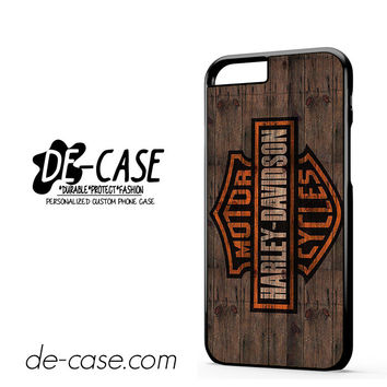 Harley Davidson On Wood For Iphone 6 Iphone 6S Iphone 6 Plus Iphone 6S Plus Case Phone Case Gift Present