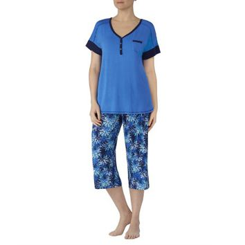 Secret Treasures Women's and Women's Plus 2 Piece Modern rayon spandex Pajama Set - Walmart.com