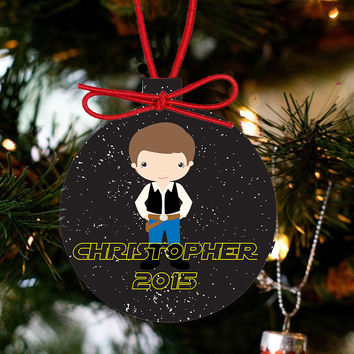 Personalized Christmas Star Wars Ornament - Luke Skywalker