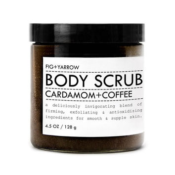 Cardamom and Coffee Body Scrub