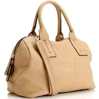 Beige Key Lock Best Seller Handbag