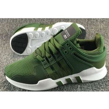 Fashion Adidas Equipment Eqt Support Adv Green Casual Sports Shoes Army Green G Feu Sy