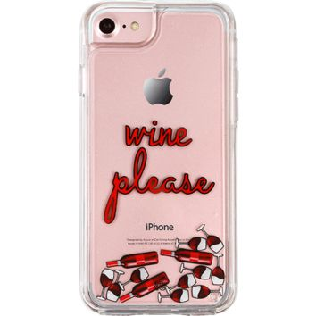 Wine Please iPhone Case