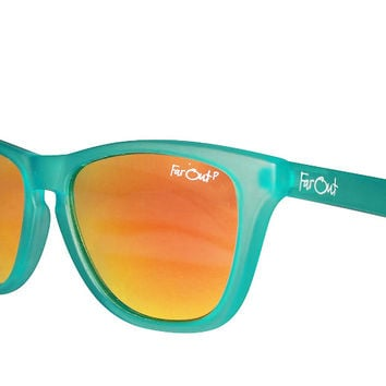 Aqua Polarized Orange Lens