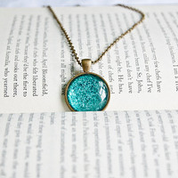 A Mermaid's Tail Pendant Necklace