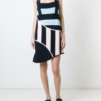 Iceberg Striped Panel Dress - Spoon - Farfetch.com