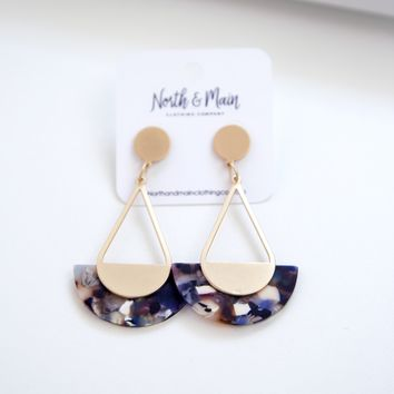 Logan Drop Earring, Multi