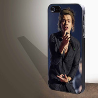 "Harry Styles Bandana concert sing  for iphone 4/4s/5/5s/5c/6/6+, Samsung S3/S4/S5/S6, iPad 2/3/4/Air/Mini, iPod 4/5, Samsung Note 3/4 Case ""005"""
