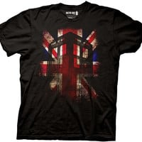 Doctor Who - Union Jack Tardis T-Shirt