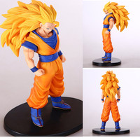 Dragon ball z Vegeta figurines toy 2015 New 16cm Soul battle damage Edition  super saiyan goku Anime Miniatures figurines broly 80's hwd