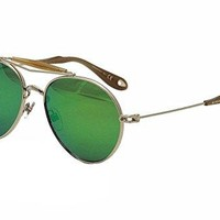 Givenchy GV 7012 color 010 palladium green multilayer sunglasses
