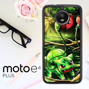 Pokemon Bulbasaur Y1358 Motorola Moto E4 Plus Case