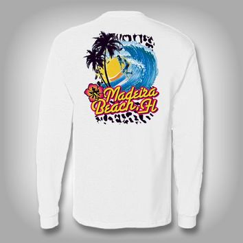 Retro Surf - Performance Shirt - Surfing Shirt