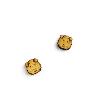 Guinea Pig Earrings - Guinea Pig Jewelry, Animal Jewellery, Guinea Pig Jewellery, Guinea Pig Studs, Pet Stud Earrings, Animal Studs