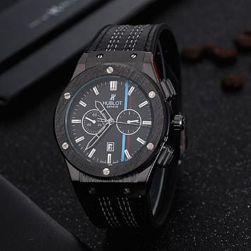 Perfect Hublot Men Fashion Quartz Watches Wrist Watch