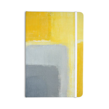 "CarolLynn Tice ""Inspired"" Grey Yellow Everything Notebook"