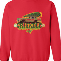 Griswold Family Christmas TV Movie Inspired beer cheers Funny sweatshirt sweater shirt Mens Ladies Womens Santa Merry Christmas Xmas DT-644s