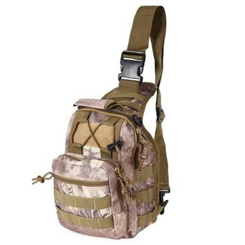 Outdoor Runsacks Sports Bag Shoulder Military Camping Hiking Bag Tactical Backpack Utility Messenger Travel Hiking Trekking Bag