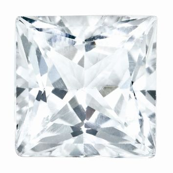 0.45 Ct Loose  4.25mm Square Diamond Gemstone I1 Clarity And G/I Color