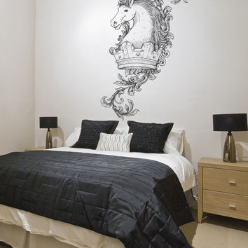 Vinyl Wall Decal Sticker King's Horse #1039