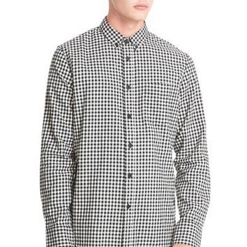 Men's rag & bone 'Yokohama' Trim Fit Gingham Long Sleeve Shirt,