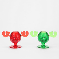 Marty Moose Shot Glass - Set Of 2 - Urban Outfitters