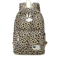 Leopard Printed Travel fashion bag Unique Backpack for College Daypack School Bookfashion bag