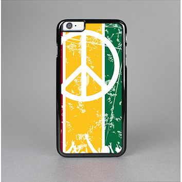 The Red, Yellow & Green Layered Peace Skin-Sert for the Apple iPhone 6 Plus Skin-Sert Case