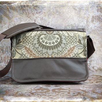 Pre-Order -  NEW Large sized Canvas and Leather DSLR Camera Bag