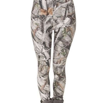 Camo Printed Women Leggings