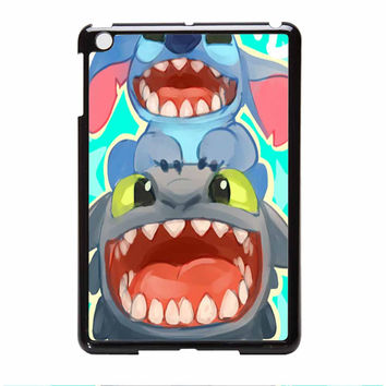 Stitch And Toothless How To Train Your Dragon iPad Mini Case