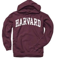 Harvard Crimson Maroon Arch Hooded Sweatshirt:Amazon:Sports & Outdoors