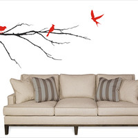 Birds on a Branch wall decal