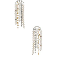 Magda Butrym Narcissus Earrings in Silver | FWRD