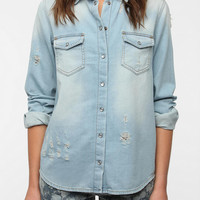 Urban Outfitters - BDG Destroyed Chambray Shirt