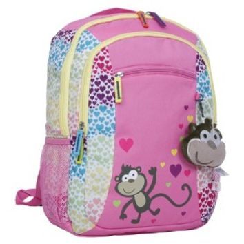 Circo Pet Pals Monkey Backpack - Pink