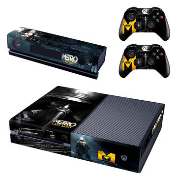 Metro last night decal for Xbox one console skin sticker