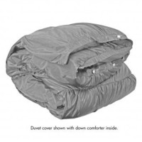 Wake Up Frankie - Romancing the Ruffles Duvet - Silver (Pre-Order!)